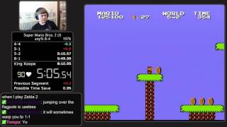 (8:03.033 w/out loads) Super Mario Bros.: The Lost Levels any% 8-4