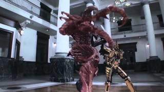 劇場作品である牙狼~RED REQUIEM~の映像でTVシリーズ第一作目の主題歌...