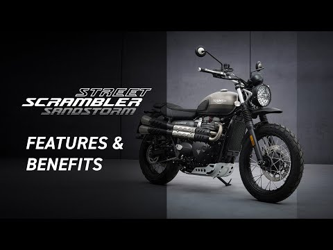 New Street Scrambler Sandstorm Edition Features and Benefits