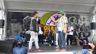 RAP DEBATE 2015/SEMIFINAL/VALLES-T VS KEN ZINGLE/FREESTYLE RAP/ HIP HOP/AYARA