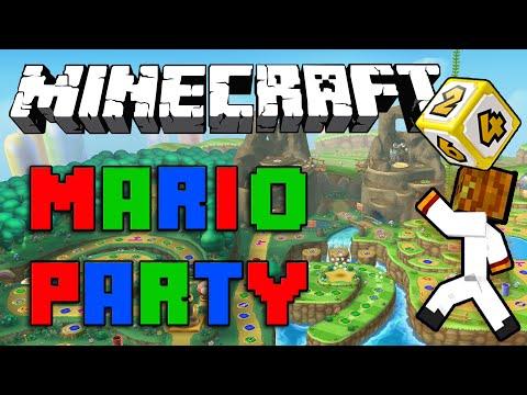 MarioParty In Minecraft Minecraft Mario Party Server Minigame - Minecraft spiele server deutsch