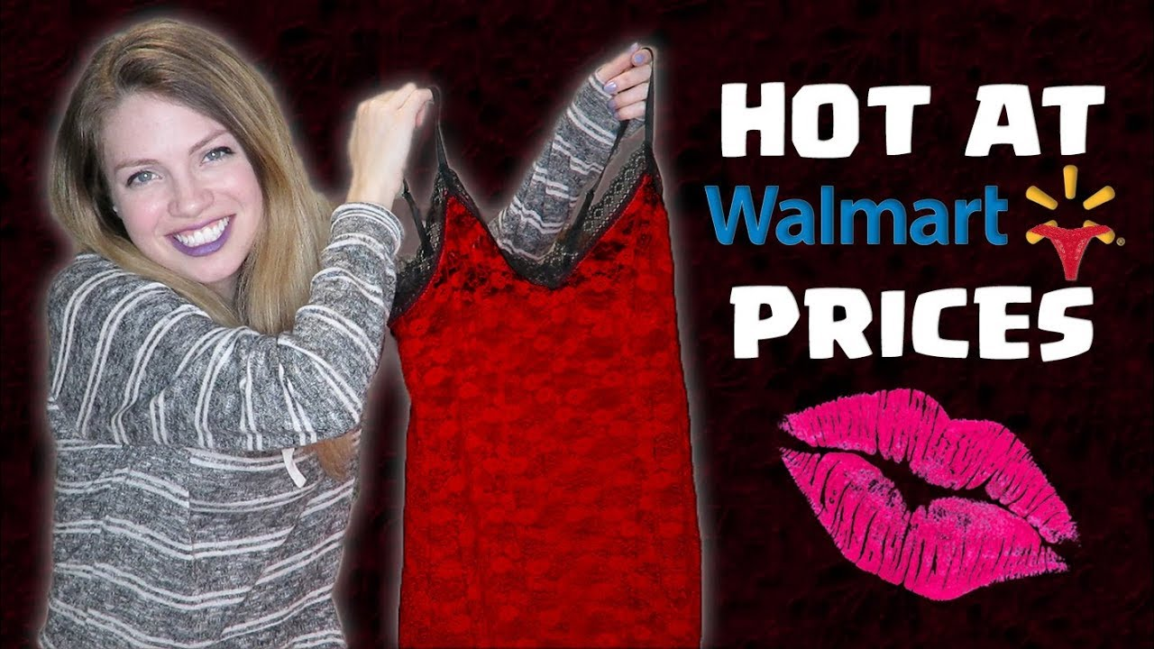 a484f989a2 SEXY Walmart Lingerie Haul 💋🤭 - YouTube
