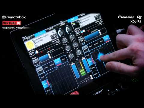 Wireless DJ System XDJ-R1 Performance