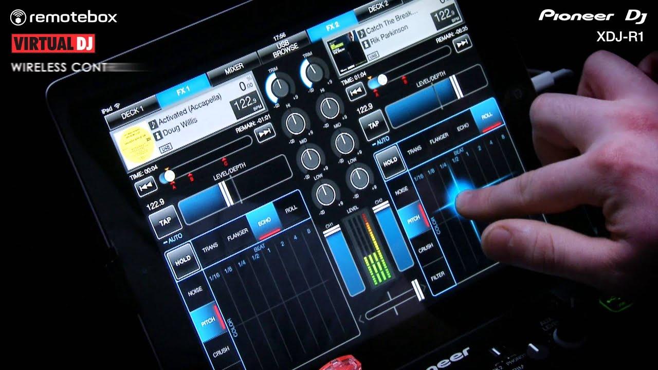 XDJ-R1 Performance - Wireless DJ System