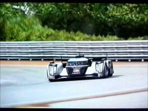 Lap Of Le Mans In A 2011 #2 Audi Sport Team Joest R18 TDI 4.11.351