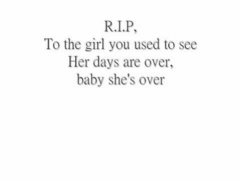 R.I.P - Rita Ora Lyrics on Screen - YouTube