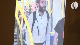 Witness phone footage shows alternative angle of MAX train stabbing