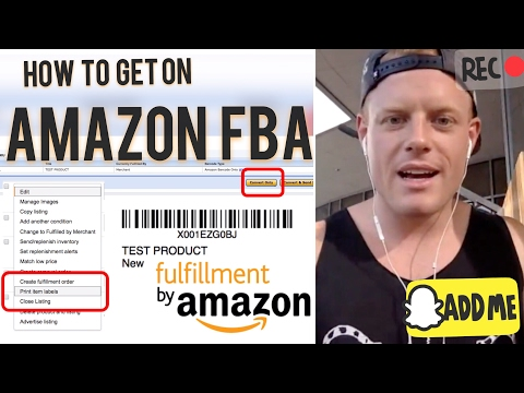 How To Ship To Amazon Fba Step By Step Inventory Shipment Tutorial For Beginners To Sell