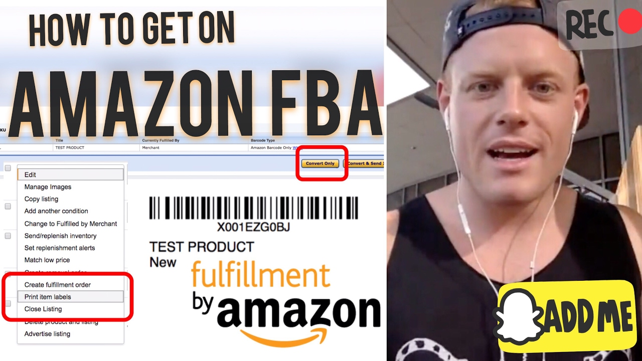 How to Ship to Amazon FBA 2017 ? Step by Step Inventory Shipment Tutorial for Beginners to Sell
