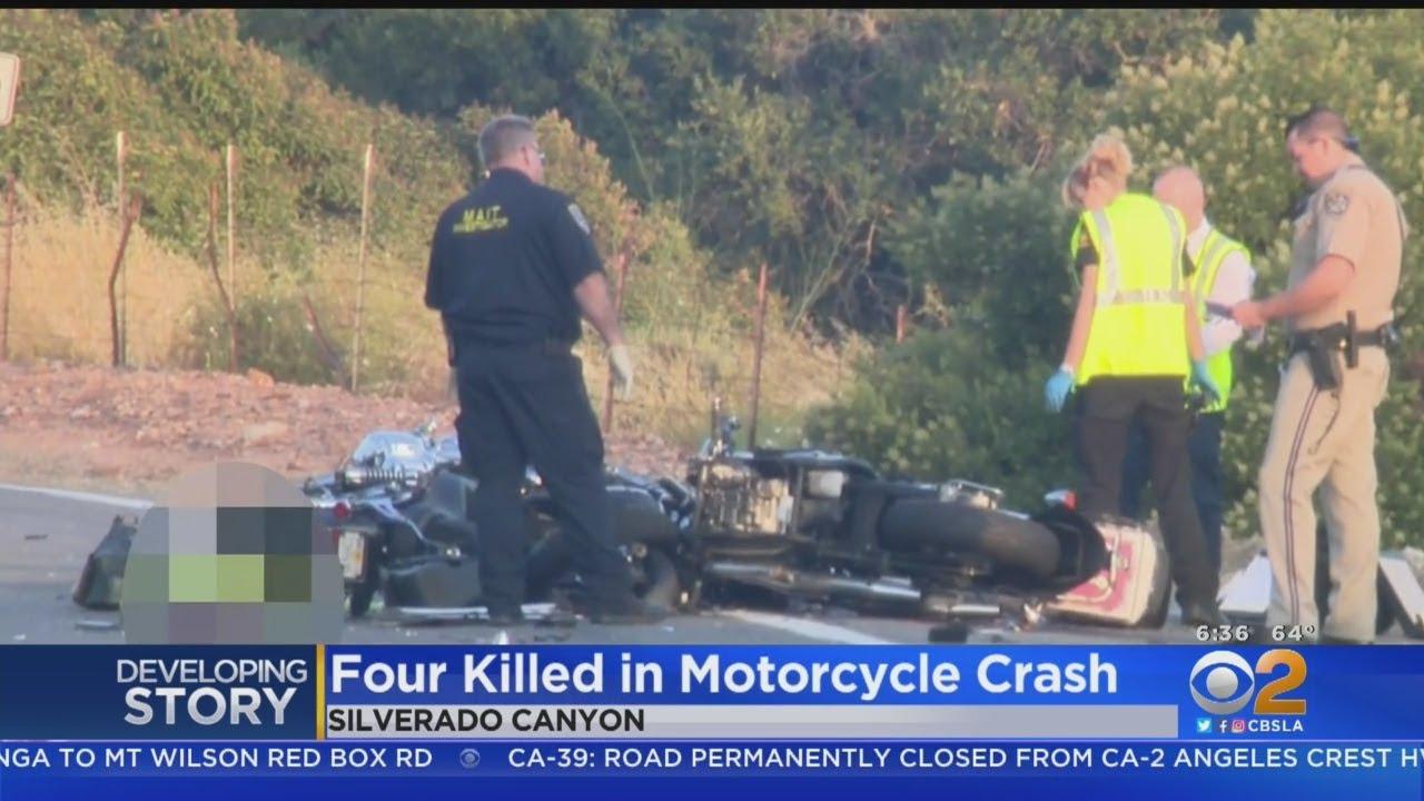 4 Killed In Crash Involving 2 Motorcycles In Orange County