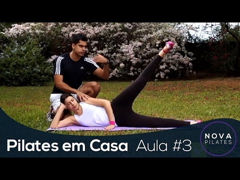 Pilates em Casa - Aula Nº3 - NÍVEL INICIANTE