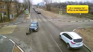 ДТП (авария г. Волжский) ул. Свердлова ул. 19 Партсъезда 03-12-2019 12-24