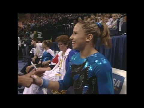 Carly Patterson and Courtney Kupets Tie - 2004 U.S. Gymnastics Championships - Women - Day 2