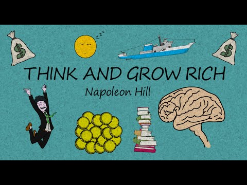 HOW TO THINK AND GROW RICH BY NAPOLEON HILL - ANIMATED BOOK SUMMARY