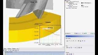 DEFORM 3D Machining end milling of AlSi1045
