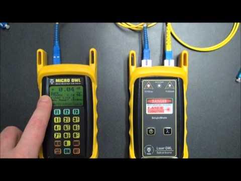 OWL KIT-M2-L2xx Singlemode Fiber Link Certification