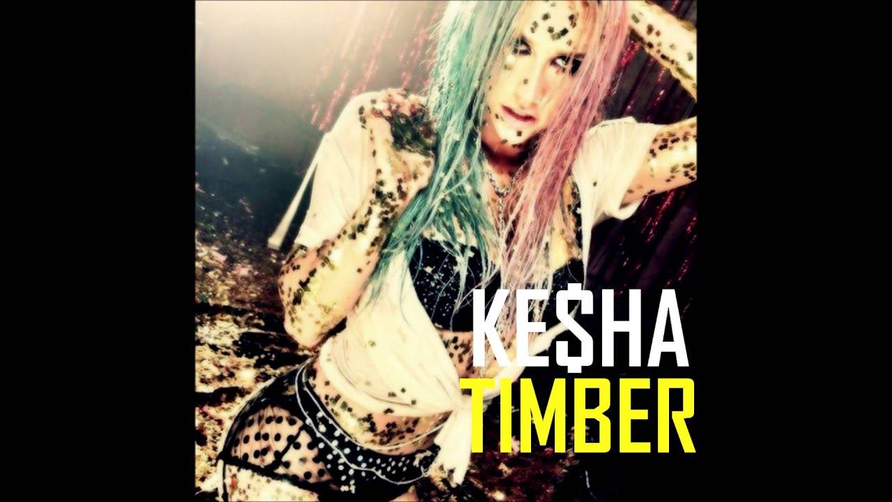 Kesha - Timber (solo version) no Pitbull! - YouTube