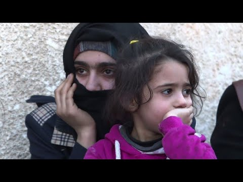 Civilians evacuated out of Syria's battered Ghouta
