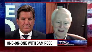 Eric Bolling with Sam Reed