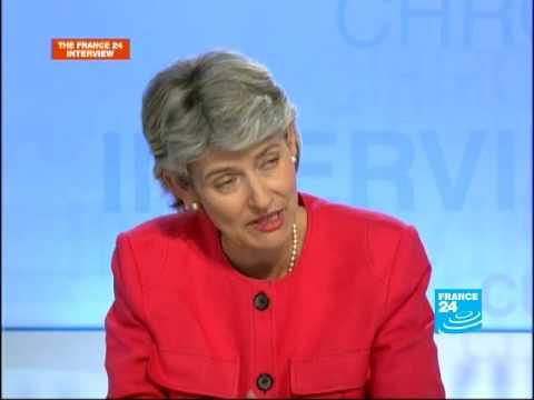 Irina Bokova, director-general elect of UNESCO