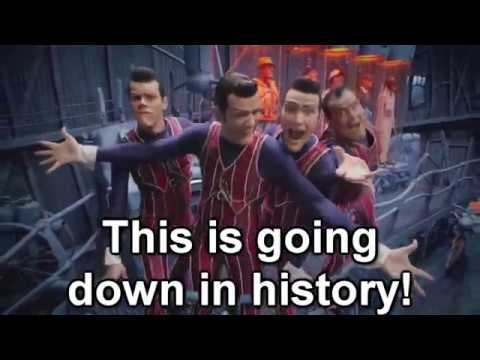 We Are Number One but with lyrics
