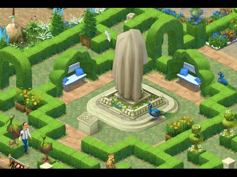 Gardenscapes New Acres Gameplay Story Playthrough Area 3 M