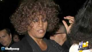 Whitney Houston 2 Days Before Her Death Acting Erratic