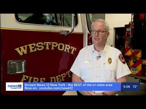 Fire Chief Volunteers at Vaccination Clinics