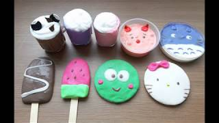 Slime Thư Giãn Mới | Making Slime With Totoro - Kitty | Slime Smoothie