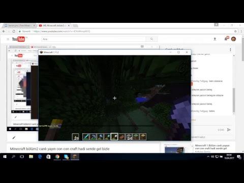 Minecraft Bölüm2 Canlı Yayın Con Con Craft Hadi Sende Gel Bizle