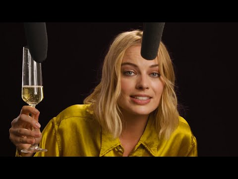 Margot Robbie Explores ASMR with Vegemite, Champagne, and High Heels | Celebrity ASMR | W Magazine