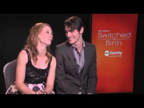 Katie Leclerc and RJ Mitte talk 'Switched At Birth' Video ...