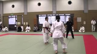第3回東日本合気道競技大会 2014年11月30日 於:武蔵野総合体育館.