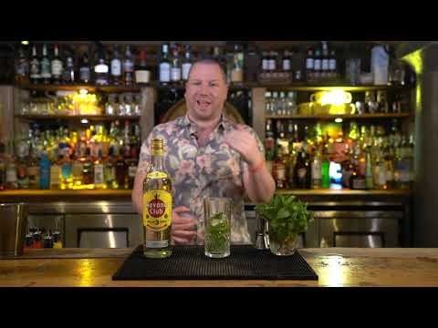 Mojito Cocktail Perfect Serve - From The Basics of Rum e-learning course by CPL Learning