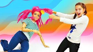 Аленка из Сказочного патруля меняет имидж Терезы - Салон красоты для кукол - Мультики онлайн