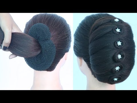 new-latest-french-bun-hairstyle-||-easy-hairstyles-||-bun-hairstyles-||-updo-hairstyle-||-hairstyle