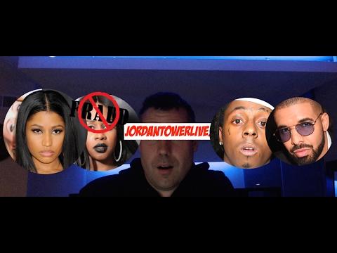 Nicki minaj fires back on Remy Ma with Drake and Lil Wayne on 'no frauds' live talk