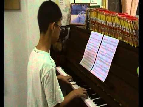 หนึ่งคนหนึ่งหัวใจ-note and piano by Blessing