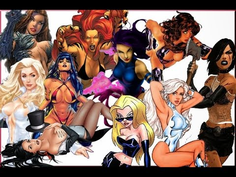 Top 10 Sexiest Female Comic Book Characters | The Lost World