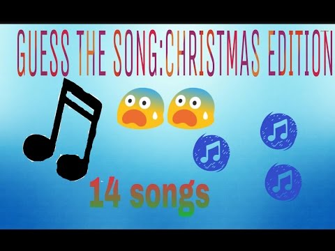 Guess the christmas song 2017 (14 songs,answers in the description)