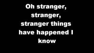 Stranger Things Have Happened Lyrics Video - Foo Fighters