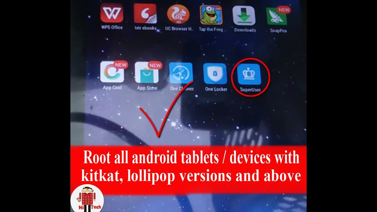 Application pour root android 4.4.2