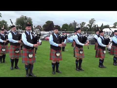 St. Columcille United Gaelic Pipe Band Highland Games Perth Perthshire Scotland