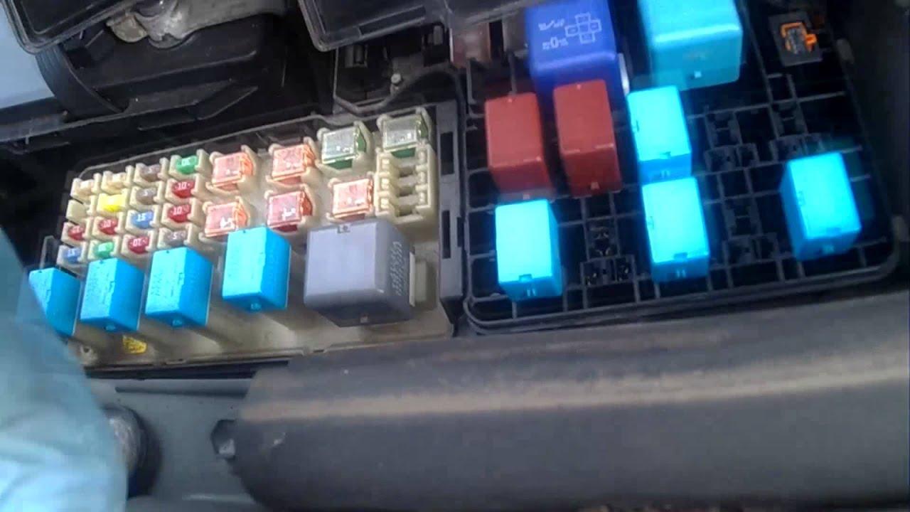 2007 tundra fuse box