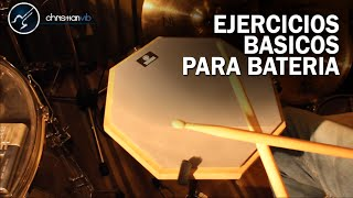 Gambar cover Ejercicios Basicos Para Bateria | 4 Rudimentos Basicos