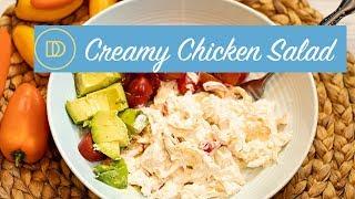 Dimitra's Creamy Chicken Salad/Low-Carb
