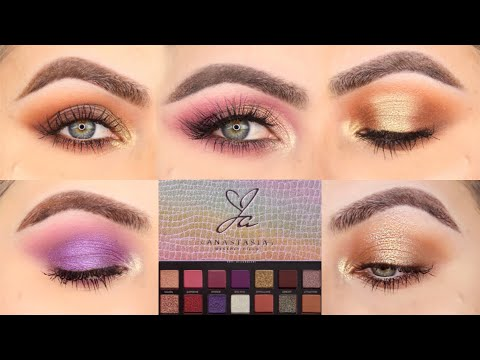 5 LOOKS 1 PALETTE| FIVE EYE LOOKS WITH THE JACKIE AINA PALETTE BY ANASTASIA (ABH) | PATTY thumbnail