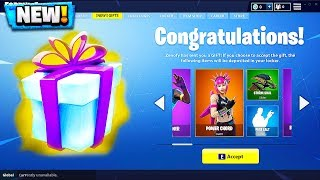 NEW GIFTING SYSTEM IN FORTNITE! Fortnite New Update GIFTING SYSTEM!