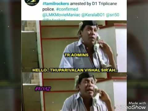 TAMILROCKERS ADMIN GOT ARRESTED.!.!