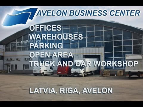 Avelon business center - offices and warehouses in Riga for rent